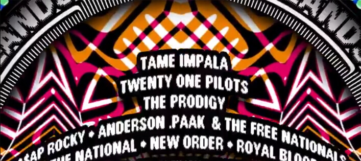 Lowlands 2019 mit Tame Impala, Twenty One Pilots, The National & Co